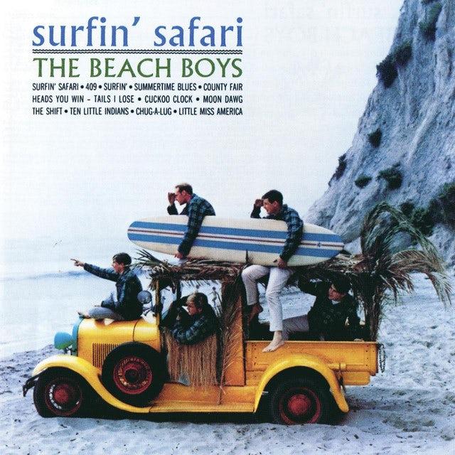 The Beach Boys SURFIN' SAFARI-MONO/STEREO Vinyl Record