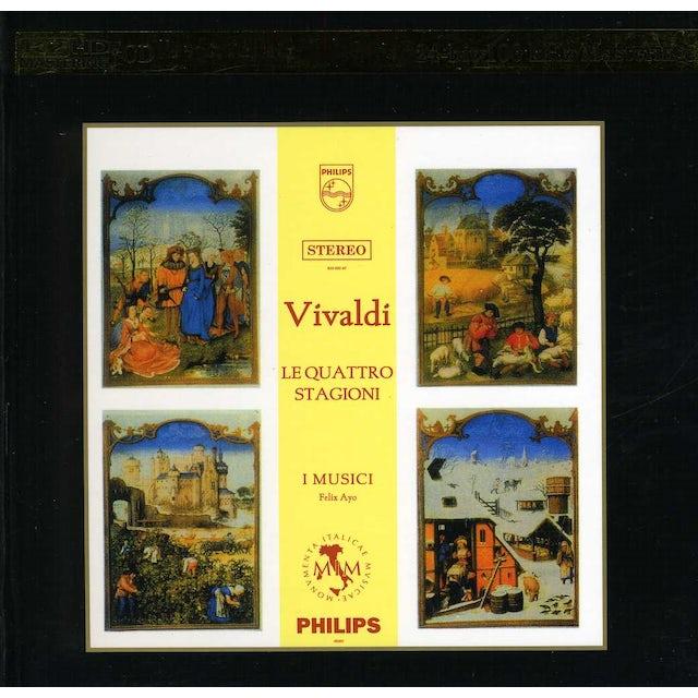 Vivaldi FOUR SEASONS K2KD CD