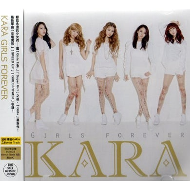 KARA GIRLS FOREVER (LIMITED EDITION) CD