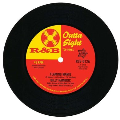 Billy/The Upsetters Hambric FLAMING MAMIE/JAYWALKING Vinyl Record