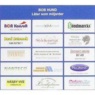 Bob Hund LATER SOM MILJARDER CD