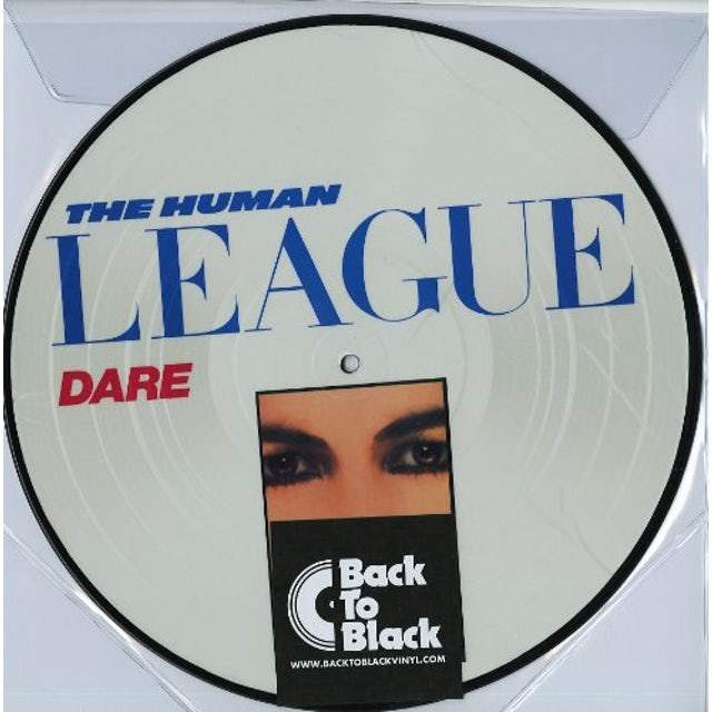 The Human League DARE Vinyl Record