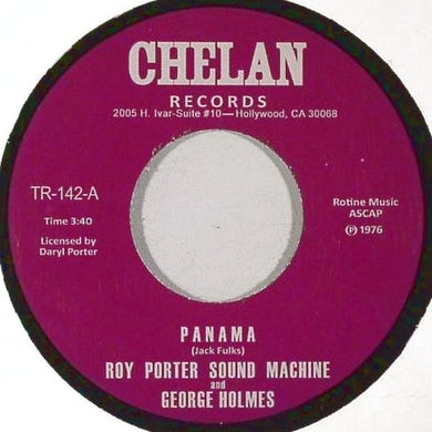Roy Porter Sound Machine PANAMA Vinyl Record - UK Release