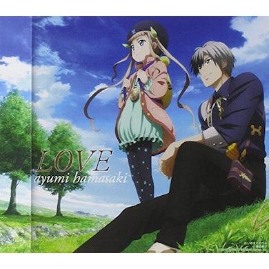 Ayumi Hamasaki LOVE (TALES OF XILLIA 2)/ALTERNATIVE EDITION CD