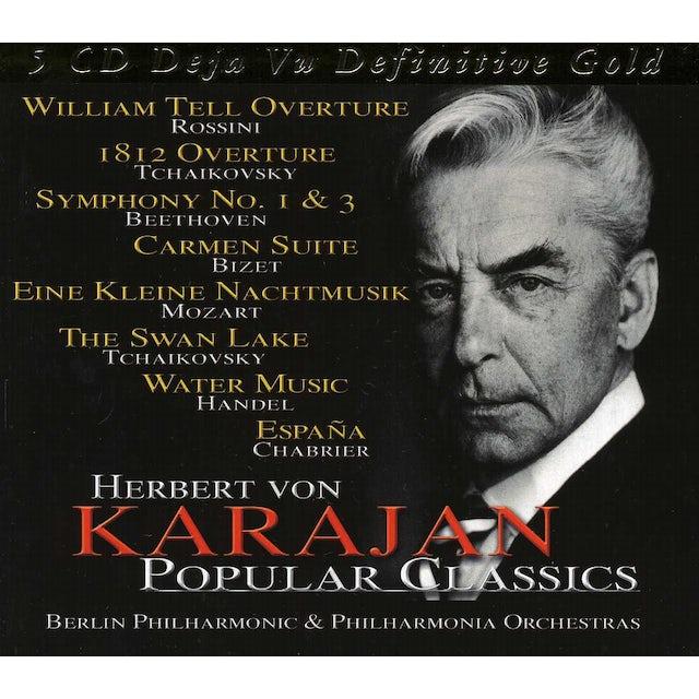 Herbert Von Karajan POPULAR CLASSICS CD
