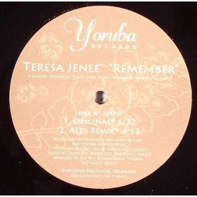 Teresa Jenee REMEMBER Vinyl Record - UK Release
