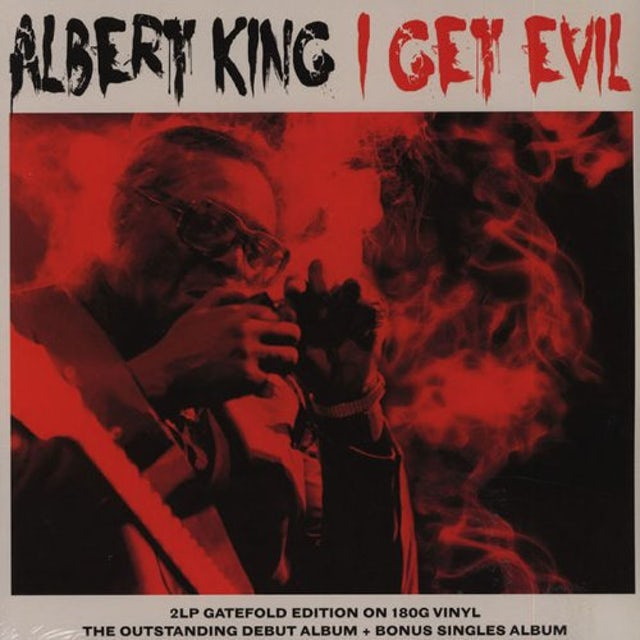 Albert King I GET EVIL Vinyl Record