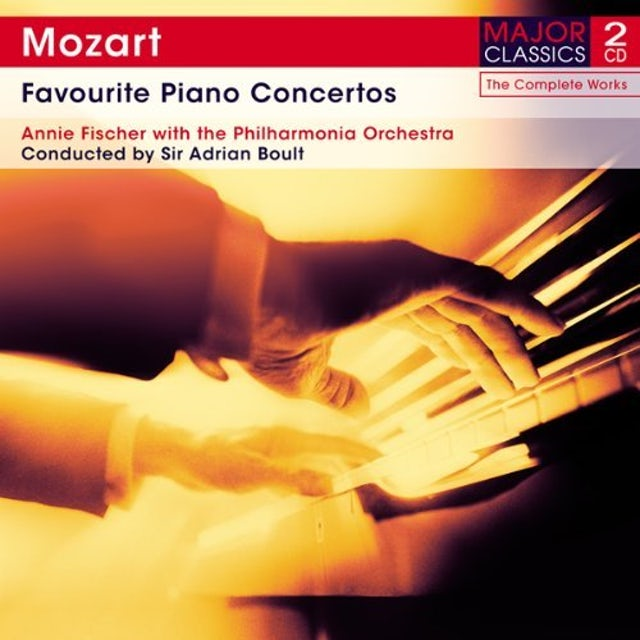 Mozart FAVOURITE PIANO CONCERTOS CD
