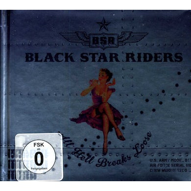 Black Star Riders ALL HELL BREAKS LOOSE: SPECIAL EDITION CD