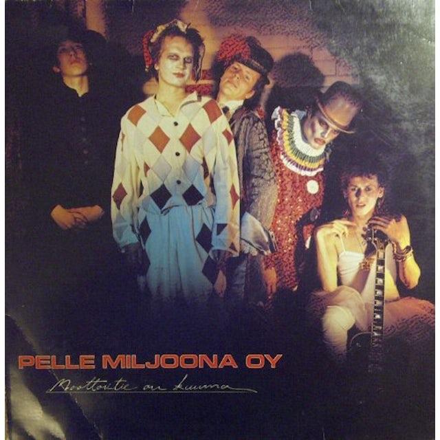 Pelle Miljoona Oy MOOTTORITIE ON KUUMA Vinyl Record - Holland Release