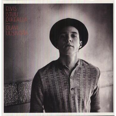 Olavi Uusivirta ELVIS ISTUU OIKEALLA Vinyl Record