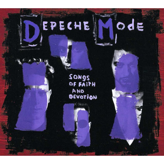 Depeche Mode SONGS OF FAITH & DEVOTION: COLLECTOR'S EDITION CD