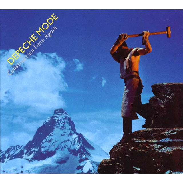 Depeche Mode CONSTRUCTION TIME AGAIN: COLLECTOR'S EDITION CD