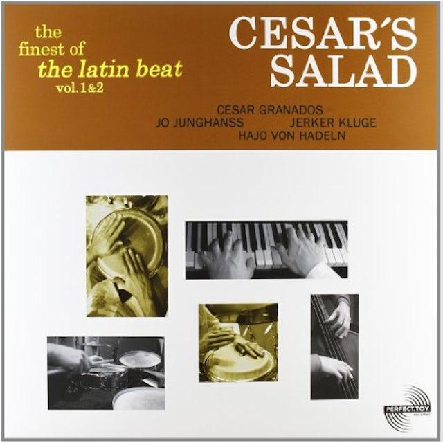 Cesars Salad VOL. 1-2-FINEST OF THE LATIN BEAT Vinyl Record - UK Release