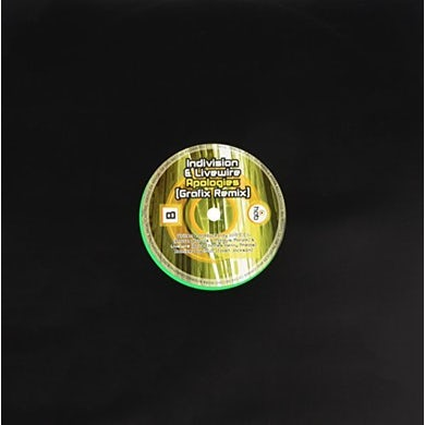 Colourz Indivision & Livewire SHEPARDS SCALE/APOLOGIES Vinyl Record