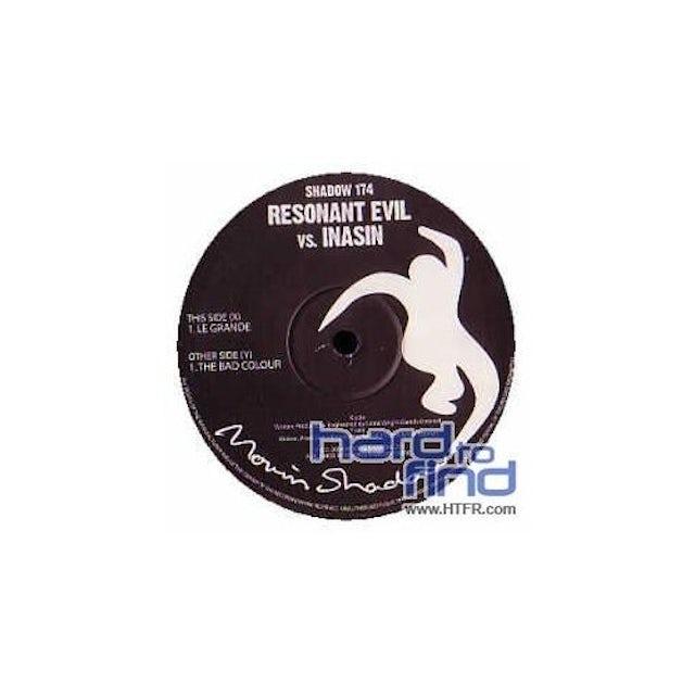Resonant Evil Vs Inasin LE GR&E/THE BAD COLOUR Vinyl Record