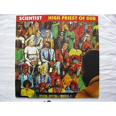 Scientist HIGH PRIEST OF DUB Vinyl Record - UK Release