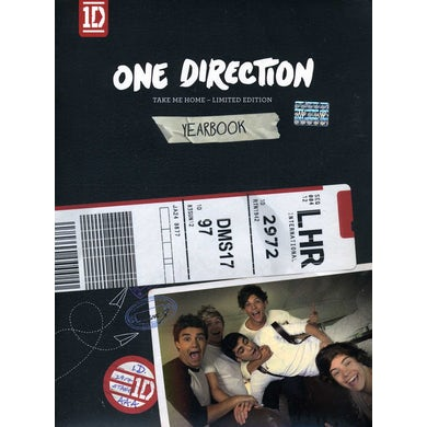 One Direction TAKE ME HOME-DELUXE CD