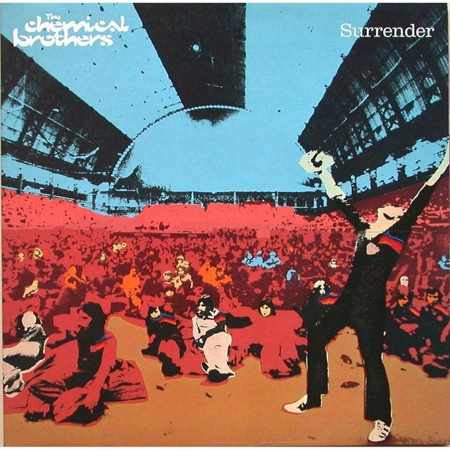 The Chemical Brothers SURRENDER Vinyl Record - Holland Release
