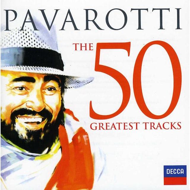 Luciano Pavarotti 50 GREATEST TRACKS CD
