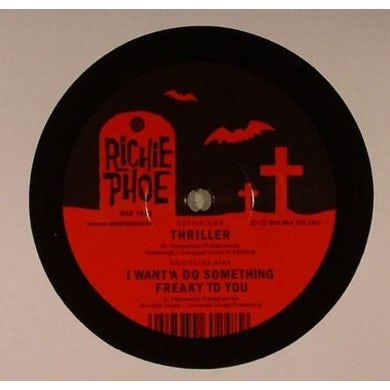 Richie Phoe THRILLER Vinyl Record - UK Release