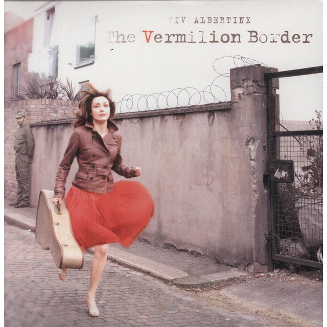 Viv Albertine VERMILLION BORDER Vinyl Record