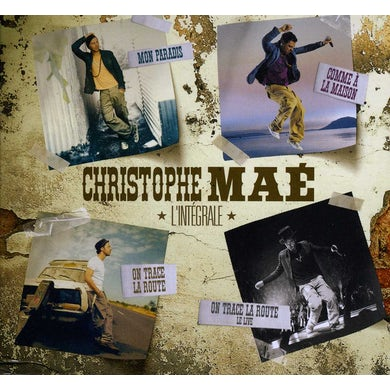 Christophe Mae L'INTEGRALE CD