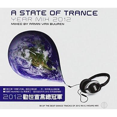 Armin van Buuren A STATE OF TRANCE: YEAR MIX 2012 CD