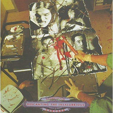 Carcass NECROTICISM-DESCANTING THE INSALUBRIOUS CD