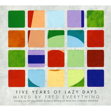 Fred Everything 5 YEARS OF LAZY DAYS CD