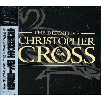 Christopher Cross DEFINITIVE CD