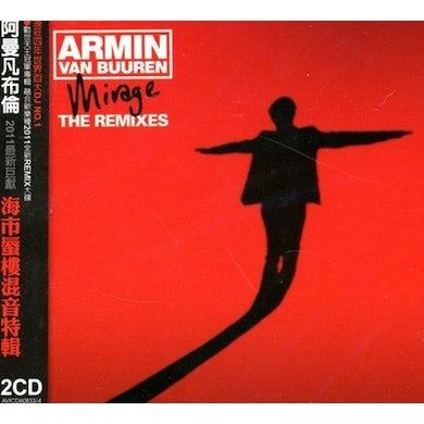 Armin van Buuren MIRAGE: THE REMIXES CD