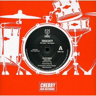 Squackett (Chris Squire & Steve Hackett) SEA OF SMILES Vinyl Record