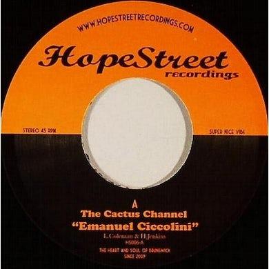 The Cactus Channel EMANUEL CICCOLINI Vinyl Record - UK Release