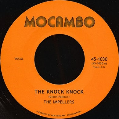 The Impellers KNOCK KNOCK/I PREDICT A RIOT Vinyl Record - UK Release
