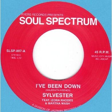 Sylvester I'VE BEEN DOWN Vinyl Record - UK Release