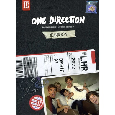 One Direction TAKE ME HOME: YEARBOOK EDITION (ASIAN) CD