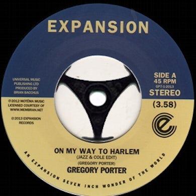 Gregory Porter ON MY WAY TO HARLEM Vinyl Record