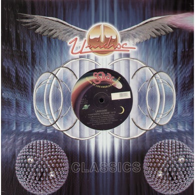 Lakeside FANTASTIC VOYAGE/ITS ALL THE WAY LIVE Vinyl Record