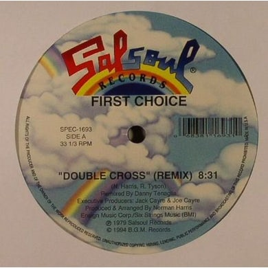 DOUBLE CROSS/LOVE THANG Vinyl Record