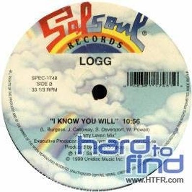 Logg DANCING INTO THE STARS/I KNOW YOU WILL Vinyl Record