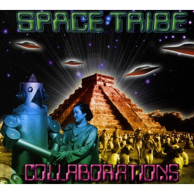 Space Tribe COLLABORATIONS CD
