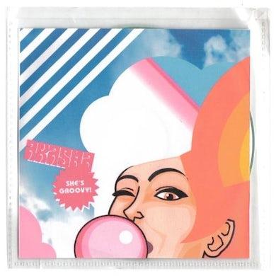 Akasha SHE'S GROOVY Vinyl Record - UK Release