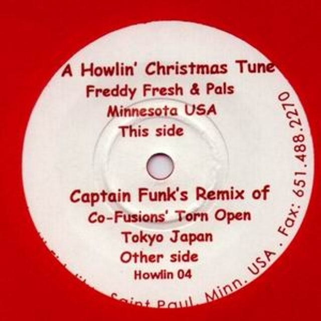 Freddy Fresh HOWLIN CHRISTMAS TUNE Vinyl Record - UK Release