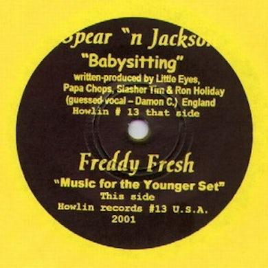 Spear N Jackson BABYSITTING Vinyl Record - UK Release