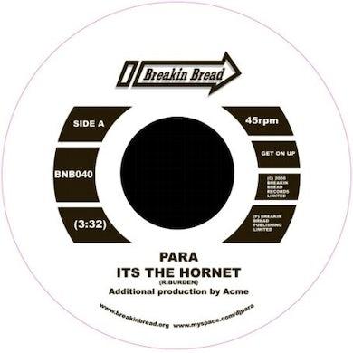 Para IT'S THE HORNET/THE HIDEAWAY Vinyl Record - UK Release