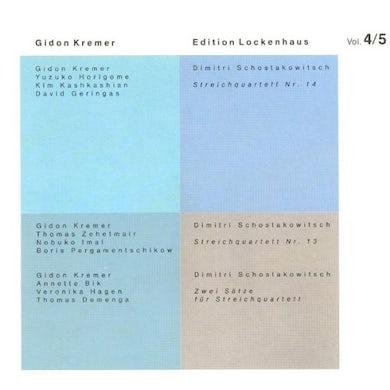 D. Schostakowitsch EDITION LOCKENHAUS 4 Vinyl Record