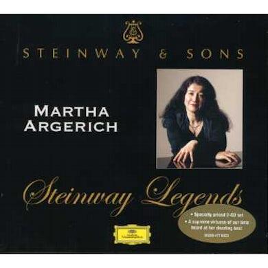 Argerich STEINWAY LEGENDS CD