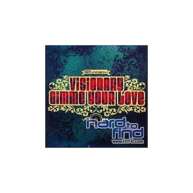 Visionary GIMME YOUR LOVE/JUNGLE ROCK Vinyl Record - UK Release