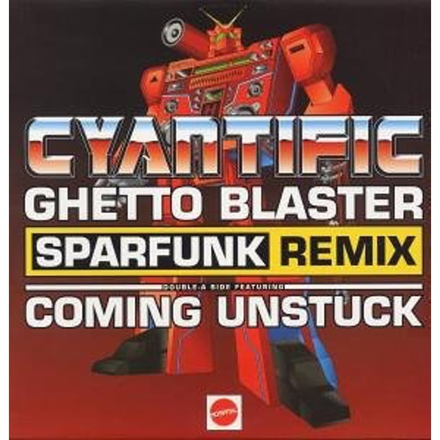 Cyantific GHETTO BLASTER Vinyl Record - UK Release